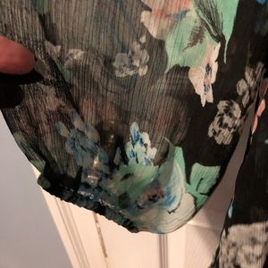 Charter Club Tops - Charter Club Floral Print Top With Bling
